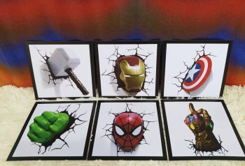 Heróis 3D