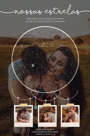Nossas estrelas Polaroide