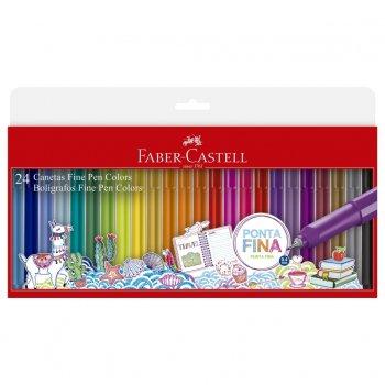 Canetas Fine Pen Colors Faber-Castell