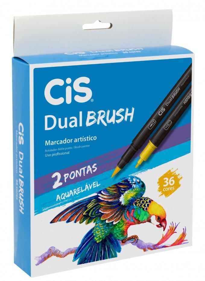 Marcador artístico Cis Dual Brush