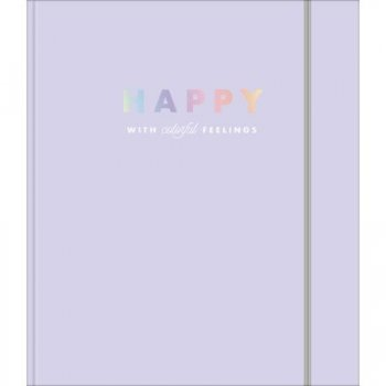 Caderno Argolado Cartonado Colegial Happy