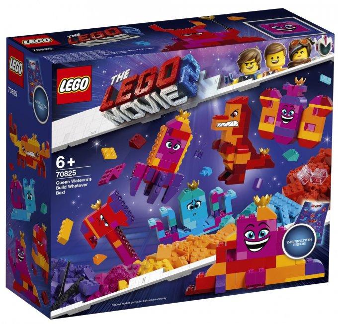 Lego Movie 2 Queen Watevra's Build Whatever Box