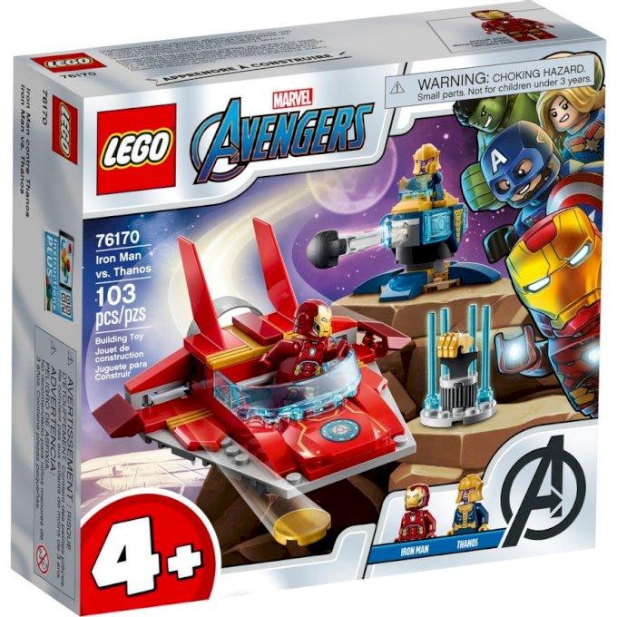 Lego Avengers Iron Man vs. Thanos