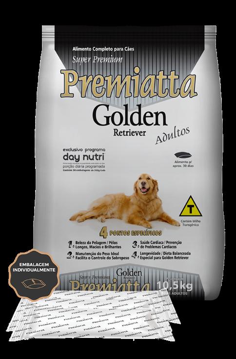 PREMIATTA GOLDEN RETRIEVER ADULTOS 10,5kg