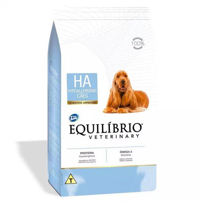 Ração Equilíbrio Veterinary Hypoallergenic para Cães Adultos 7,5kg