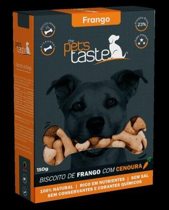 Biscoito The Pet's Taste Frango 150g