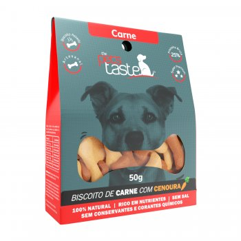 Biscoito The Pet's Taste Carne 50g
