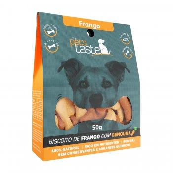 Biscoito The Pet's Taste Frango 50g