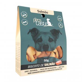Biscoito The Pet's Taste Salmão 50g