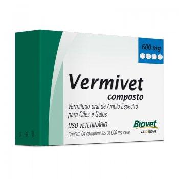 Vermivet Composto 4 Cp 600 Mg