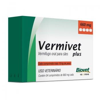 Vermivet Plus 4 Cp / 660 Mg