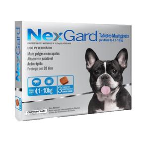 Nexgard 3 M 4,1-10kg 1,25 Gr