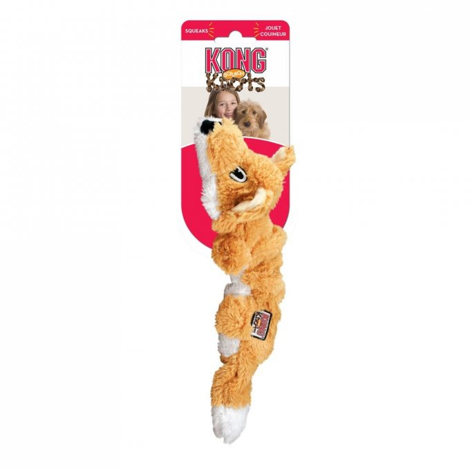 Kong Scrunch Knots Fox Small/Medium
