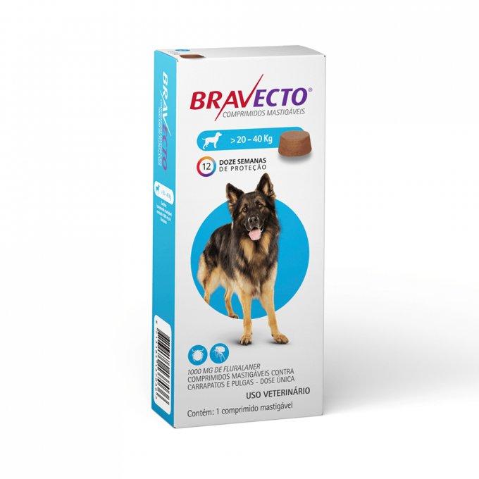 Bravecto 1000mg (20-40kg)