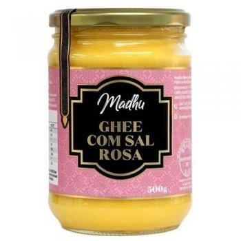 Manteiga Ghee com Sal Rosa 300g