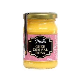 Manteiga Ghee com Sal Rosa 150g