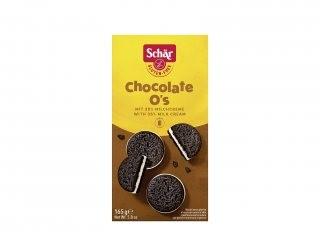 Bolacha de Chocolate Sem Glúten Recheada 165g