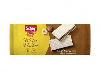 Biscoito Wafer com Recheio de Creme de Avelã Sem Glúten 50g