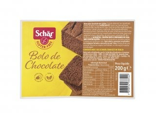 Bolo de Chocolate Sem Glúten e Lactose 200g