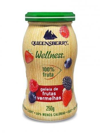 Geleia Frutas Vermelhas 100% Fruta