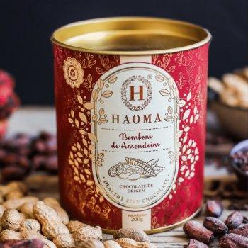 Bombom de Chocolate com Recheio de Amendoim - 10 unid