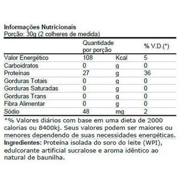 Proteína Isofort Neutro 900g Vitafor
