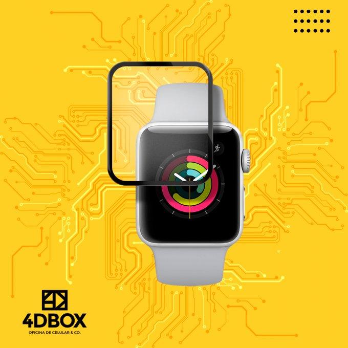 Pelicula UV para Apple Watch Alta Resistencia