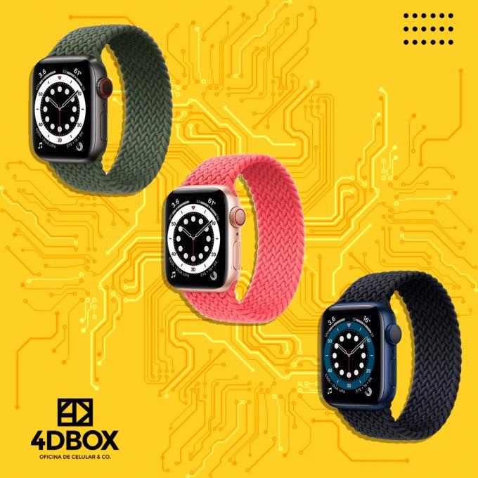 Pulseira Loop Nylon Apple Watch TAM P,M,G