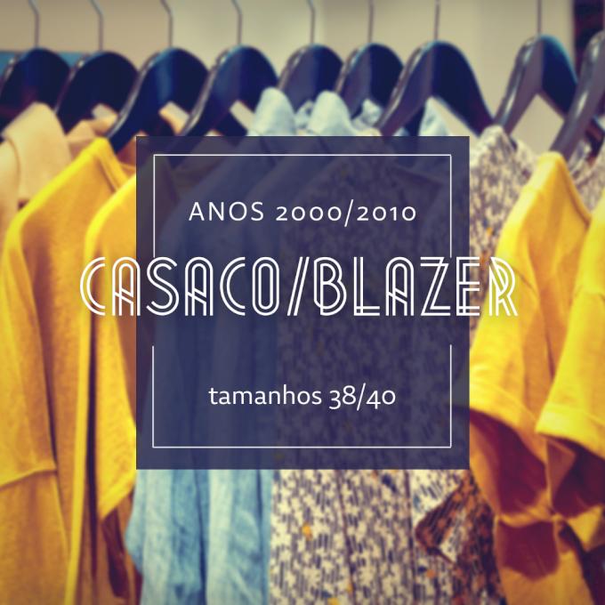 Lote C022 - Casacos e blazers