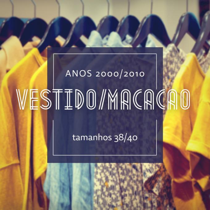 Lote C015 - Vestido/Calça/ Macacão
