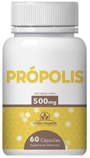 PROPOLIS 60X500MG UNIAO VEGETAL