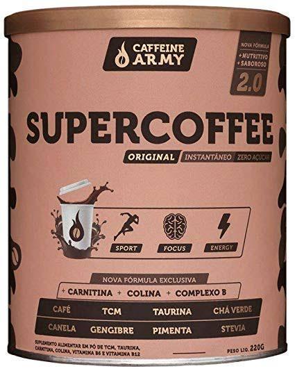 SUPERCOFFE 220g Cafeine Army