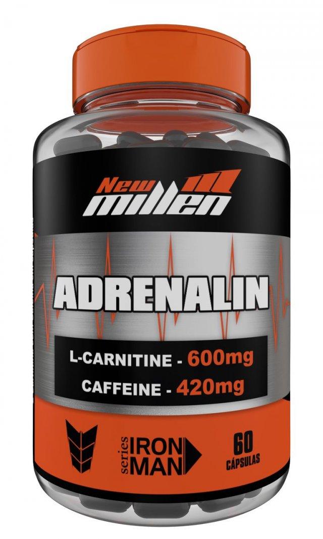 Adrenalin 60 caps new millen