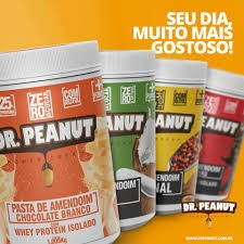DR. PEANUT PASTA DE AMENDOIM - 1KG sabores