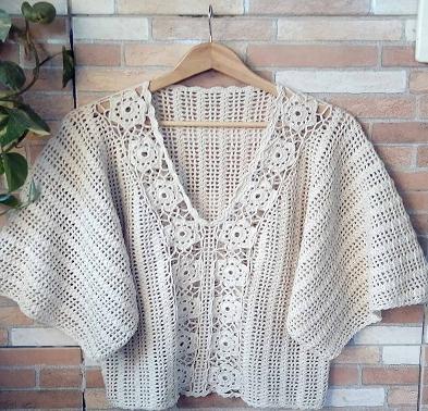 Camisa de Crochê