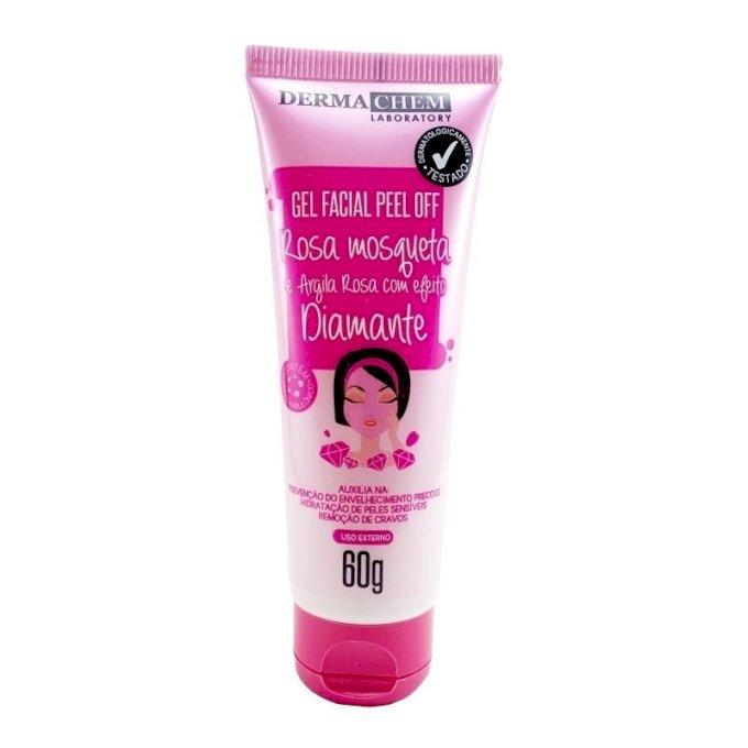 Gel Facial Peel Off Rosa Mosqueta - Dermachem