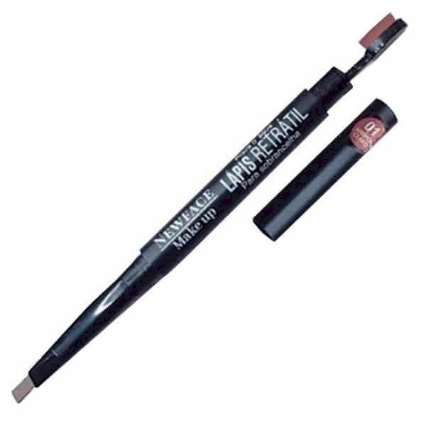 Lápis Retrátil para Sobrancelha a Prova D'água Newface - N28
