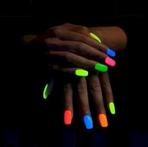 Sombra Neon Para Unhas