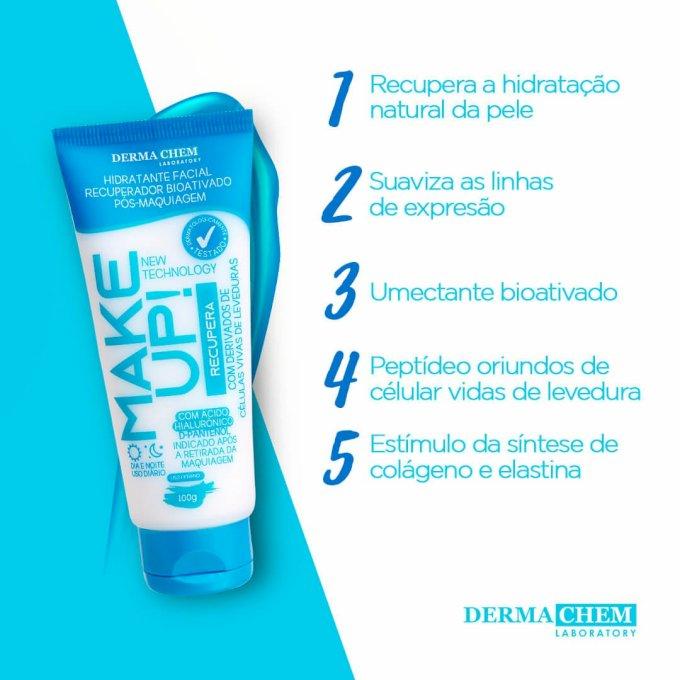 Hidratante Facial Recuperador Bioativado Dermachem