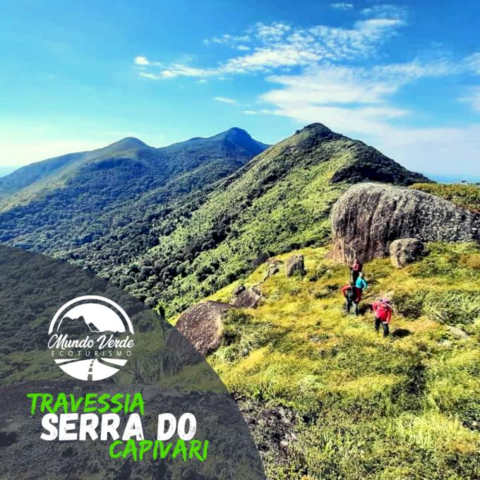 Travessia completa Serra do Capivari - 15/08