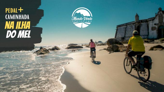 Caminhada+Pedal na Ilha do Mel