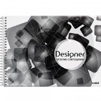 Caderno Desenho 48Fls - Credeal