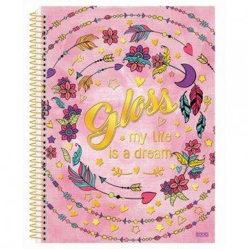 Caderno Gloss 200Fls - M01 - São Domingos