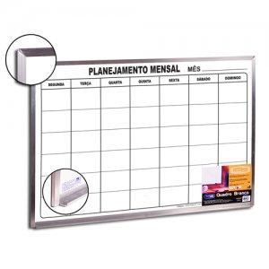 Quadro de Planejamento Mensal 90x60cm - Cortiarte