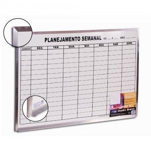 Quadro de Planejamento Semanal 90x60cm - Cortiarte