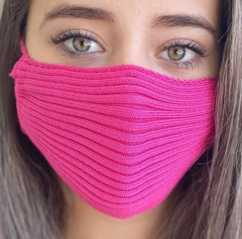 Máscara tricot