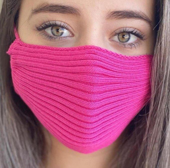 Máscaras de tricot