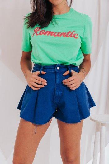 Short jeans godê azul