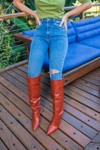 Calça jeans confort Destroyd