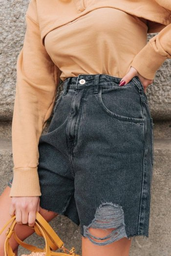 Short jeans black 90s